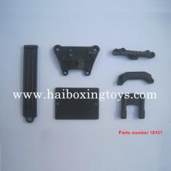 HBX Hailstrom 18858 Parts Front Top Plate+Servo Guard+Suspension Brace 18101