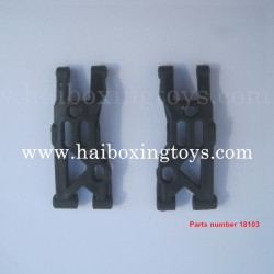 HBX Hailstrom 18858 Parts Front Lower Supension Arms 18103