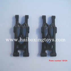 HBX Hailstrom 18858 Parts Rear Lower Supension Arms 18104