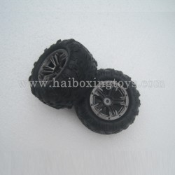 XinleHong Toys 9137 Spare Parts Tire, Wheel 30-ZJ02