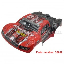 REMO HOBBY Rocket 1621 Parts Body Shell, Car Shell D2602