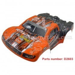REMO HOBBY 1621 Parts Body Shell Car Shell D2603