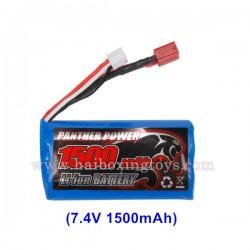 REMO HOBBY 1621 Rocket  Parts Battery 7.4V 1500mAh E9315