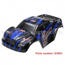 REMO HOBBY 1631 Parts Body Shell D3603