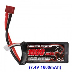 REMO HOBBY 1631 Parts Battery 7.4V 1600mAh E9316