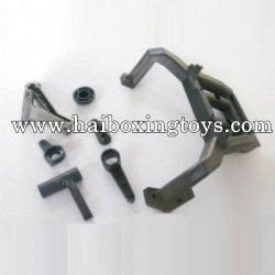 HBX T6 Parts Steering Assmebly +Rear Spare Wheel Rack TS039