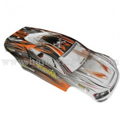 XinleHong Toys 9136 Parts Car Shell Orange