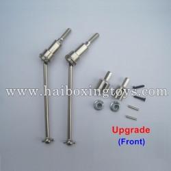 HBX 12813 Survivor MT Parts Upgrade Metal Front Drive Shafts 12710C