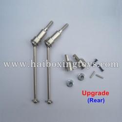 HBX 12813 Survivor MT Parts Upgrade Metal Rear Drive Shafts 12711C