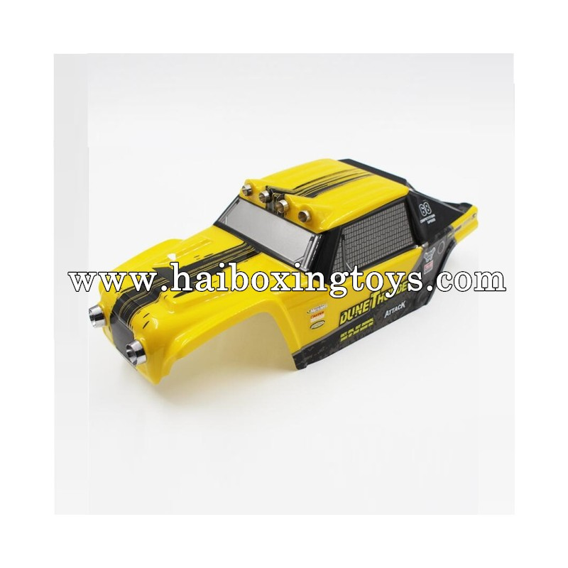 HBX 12891 Dune Thunder Body Shell Yellow 891-B001