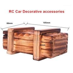 Remote Control Car Decorative Accessories Simulation Small Wooden Box