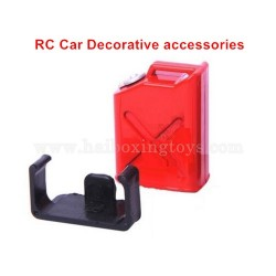 RC Car Decorative Accessories Simulation Plastic Small Oil Tank-Red