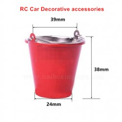 RC Car Decorative Accessories Simulated Iron Bucket-Large