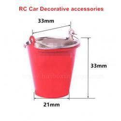 RC Car Decorative Parts-Simulated Iron Bucket-Small