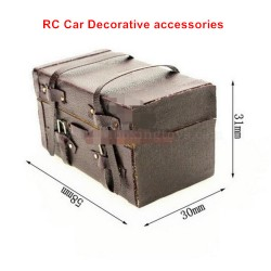 RC Car Decorative Parts-Simulated Suitcase