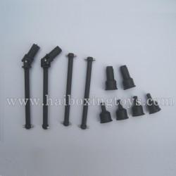 HBX 12815 Protector Parts Dog Bone Drive Shaft+Dogbone Cups 12604R