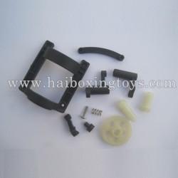 HBX 12813 Survivor MT Parts Spur gear+Pinion Gear+Motor Guard+Steering Bushings 12602R