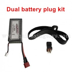 GPToys S920 upgrade Parts 7.4V 1600mAh Battery+USB Charger+Double Electric Link Plug+Battery Bandage