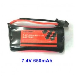 Subotech BG1520 Parts Battery 7.4V 650mAh