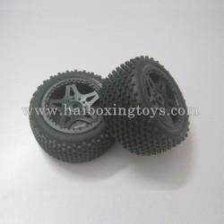 HBX Survivor XB 12811 Parts Rear Wheels Complete 12039