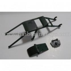 HBX Survivor XB 12811 Parts Roll Cage+Skid Plate 12608