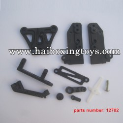 HBX 12889 Thruster Parts Front Top Plate+Braces 12702
