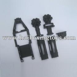 HBX 12811 Survivor XB Parts Gear Box Housing+Upper Deck+Battery Cover 12601R