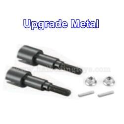 HBX 16890 Destroyer Upgrade Metal Rear Wheel Shafts+Pins+M4 Lock Nut M16107