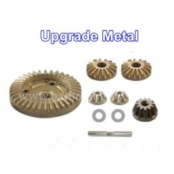 HBX 16890 Destroyer Upgrade Metal Diff. Gears+Diff. Pinions+Drive Gear M16103