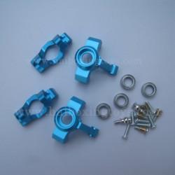 ENOZE 9302E Upgrade Metal Steering Cup Kit-Blue