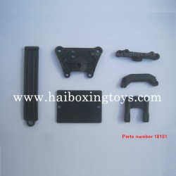 HBX 18859 Blaster Parts Front Top Plate+Servo Guard+Suspension Brace 18101
